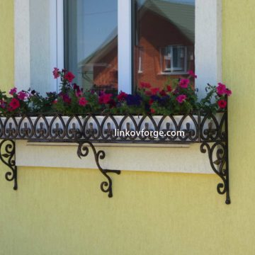 Wrought iron flower-stand <br> 20