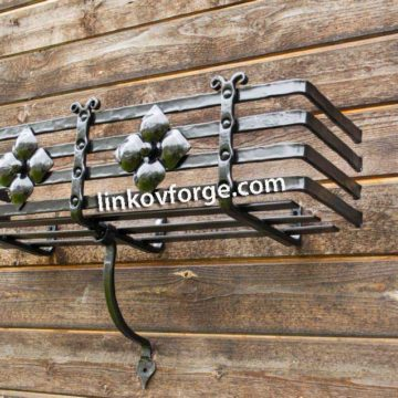 Wrought iron flower-stand <br> 21