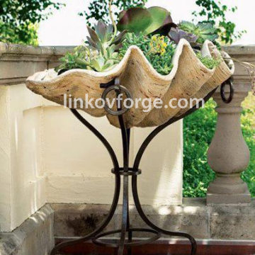 Wrought iron flower-stand <br> 26