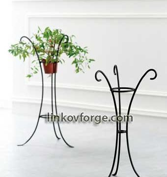 Wrought iron flower-stand <br> 27
