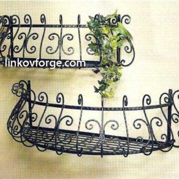 Wrought iron flower-stand <br> 7