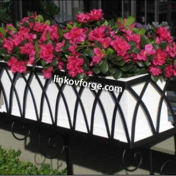 Wrought iron flower-stand <br> 8