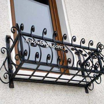 Wrought iron flower-stand <br> 10