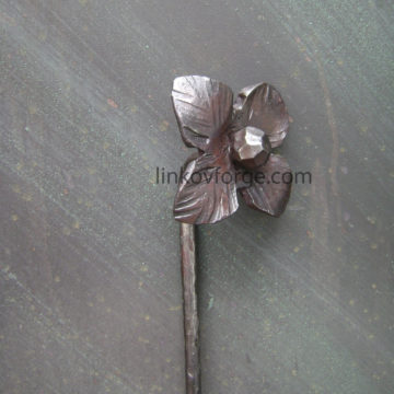 Wrought iron flower<br> 5