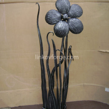 Wrought iron flower<br> 7