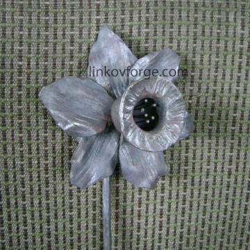 Wrought iron flower<br> 8