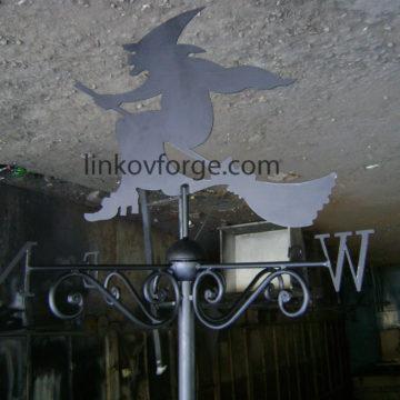 Ветропоказател от ковано желязо
