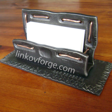 Wrought iron  card holders<br> 2