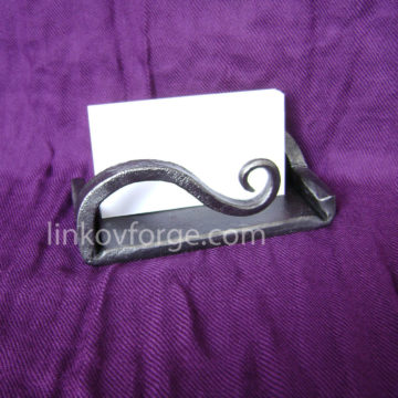 Wrought iron  card holders<br> 3