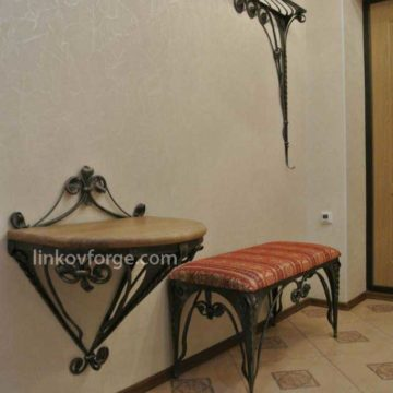 Wrought iron Hangers  <br>5