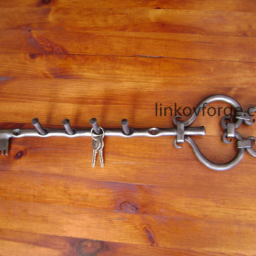 Закачалка от ковано желязо <br> 18