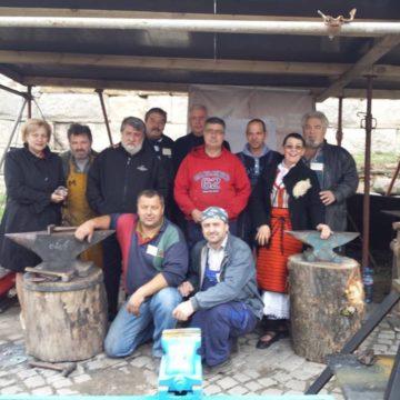 Workshop on wrought iron