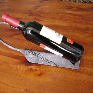 Поставка за вино от ковано желязо<br>1