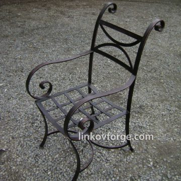 Wrought iron  chair<br>1