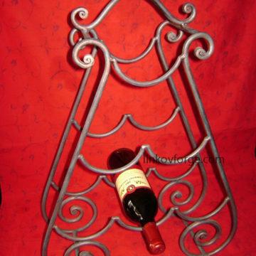 Поставка за вино от ковано желязо<br>5