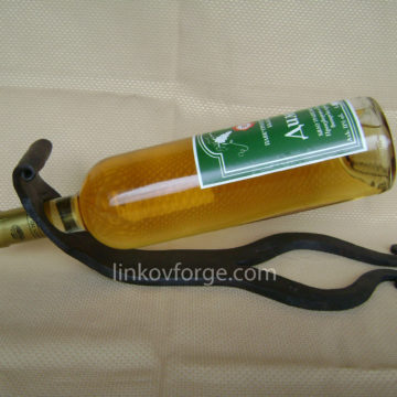 Поставка за вино от ковано желязо<br>6
