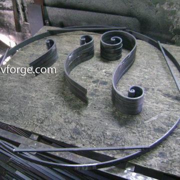 Градинска мебел от ковано желязо