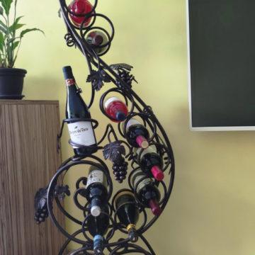 поставка за вино от ковано желязо<br> 11<br><br>