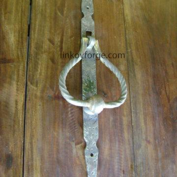 Хлопка, чукче за входна врата от ковано желязо