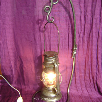 Лампа от ковано желязо  <br> 2