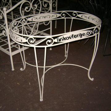 Маса и столове от ковано желязо  <br>2