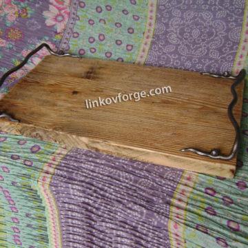Поднос от ковано желязо 1 в