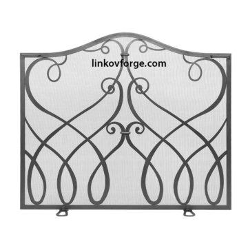 решетка за камина от ковано желязо 6