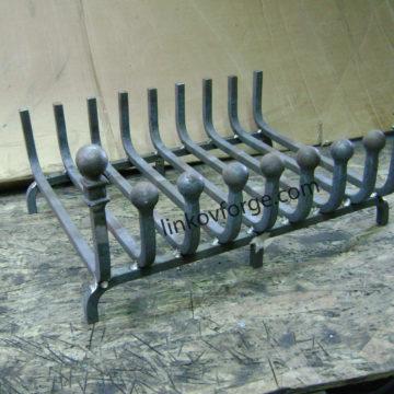 Скара за камина от ковано желязо  2