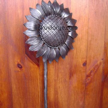 Слънчоглед от ковано желязо