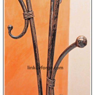 Закачалка от ковано желязо <br> 10