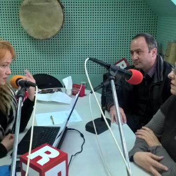 Visiting the studio of Darik Radio Plovdiv