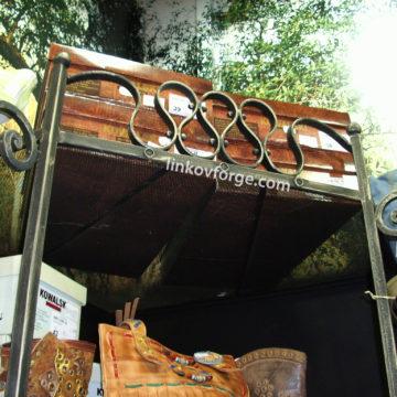 Обзавеждане за магазин от ковано желязо 1