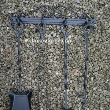 Прибори за камина от ковано желязо <br> 8