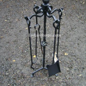 Прибори за камина от ковано желязо <br> 9